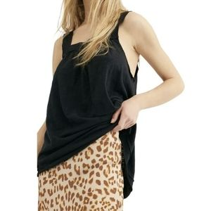 Free People Good for You Tank square neck